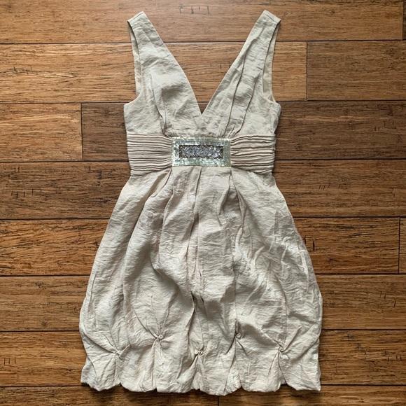 BCBGMaxAzria Dresses & Skirts - BCBG - Bubble Strapless Cocktail Dress